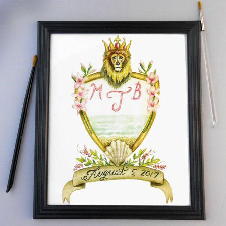 Crests, Heraldry, Coat Of Arms, Monogram